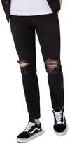 Topman Men's Ripped Skinny Fit Jeans