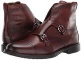 Massimo Matteo Double Monk Boot (Pinhao) Men's Shoes