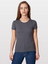 American Apparel Baby Rib Basic Short Sleeve T-Shirt
