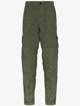Stone Island Seersucker Cargo Trousers
