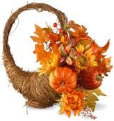 National Tree Company Autumn Cornucopia Basket