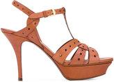 Saint Laurent Tribute 75 sandals - women - Leather - 36.5