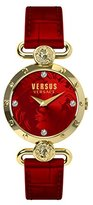 Versus By Versace Women's SOL030015 Sunnyridge Analog Display Quartz Red Watch