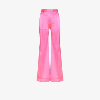 House of Holland Tailored Satin Trousers