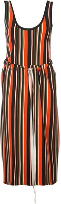 Proenza Schouler Striped Knit Tank Dress
