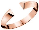 Calvin Klein Shape Rose Gold Pvd Bangle