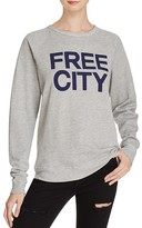 Freecity FREE CITY STR8UP Raglan Sweatshirt