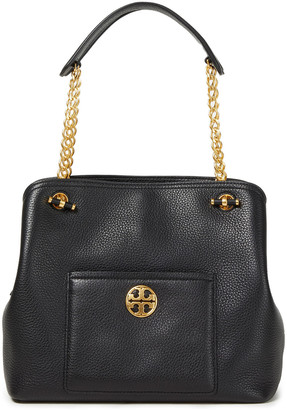 Tory Burch Chelsea Slouchy Pebbled-leather Shoulder Bag