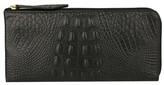 Scully Women's Embossed Croco Wallet 5009