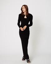 Nicole Miller Back Ties Gown