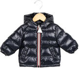 Moncler Boys' Puffer Hooded Jacket w/ Tags