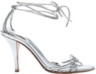 Sergio Rossi Metallic Patent leather Heels