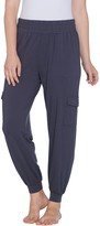AnyBody Loungewear Petite Cozy Knit Cargo Jogger Pants