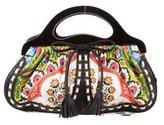 Isabella Fiore Floral Print Handle Bag