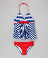 Jantzen Blue Sail Away Tankini - Girls