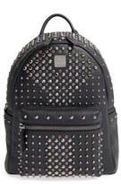 MCM 'Small Stark Special' Swarovski Crystal Embellished Leather Backpack - Black
