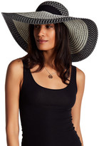 David & Young Scarf Tie Floppy Hat