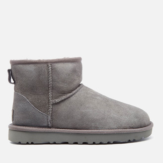 UGG Women's Classic Mini II Sheepskin Boots - Grey