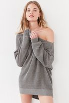 Silence & Noise Silence + Noise Asymmetrical One-Shoulder Sweater
