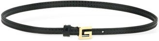 Gucci Leather Choker W/ Square G Detail