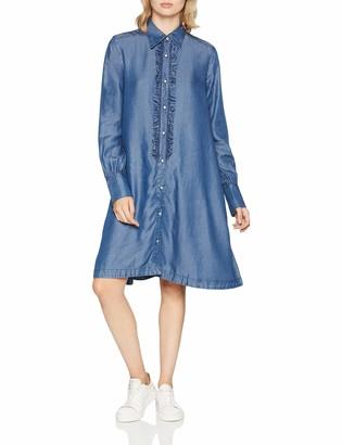 G Star Women's Deline Frill Dress Wmn L/s