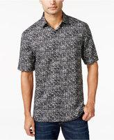 Alfani Short-Sleeve Ward Box-Print Shirt, Only at Macy's
