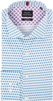 Simon Carter Long Sleeve Slim Fit Pomegranate Print Shirt
