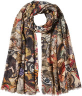 Faliero Sarti Printed Scarf with Silk