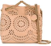 Stella McCartney 'Noma' flower embroidery shoulder bag