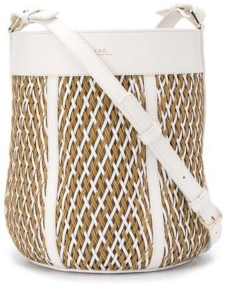 A.P.C. Woven Crossbody Bag