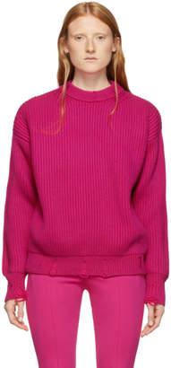 Nina Ricci Pink Pullover Crewneck Sweater
