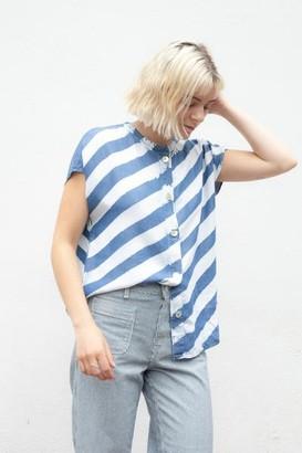 Nümph Beeja Denim Tie Dye Shirt - 34
