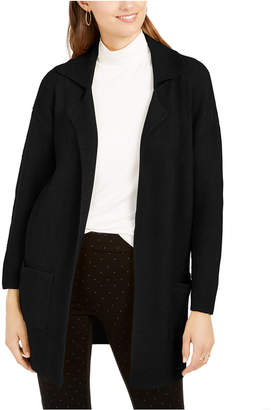 Style&Co. Style & Co Petite Oversized Patch-Pocket Cardigan