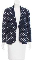Diane von Furstenberg Paulette Pearl Embellished Blazer