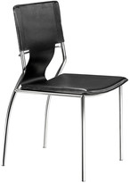 ZUO Set Of 4 Trafico Dining Chairs