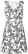 Rachel Zoe short embroidered dress