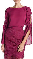 Laundry by Shelli Segal Keyhole Sleeve Top