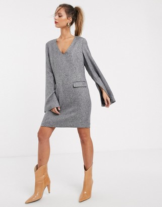 UNIQUE21 wide sleeve smock dress