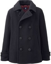 Uniqlo Boys Fleece Pea Coat