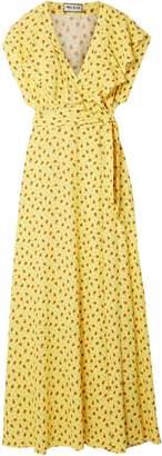 Paul & Joe Amalia Ruffled Floral-print Crepe Wrap Maxi Dress