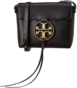 Tory Burch Miller Metal Leather Crossbody