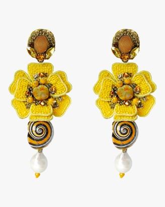 Ranjana Khan Reyna Clip-On Earrings