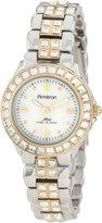 Swarovski Armitron Women's 75/3689MPTT Crystal Accented Two-Tone Dress Watch
