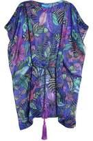 Matthew Williamson Sweetie Ragadang Floral-Print Silk-Chiffon Coverup