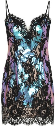 Christopher Kane Floral-lace minidress