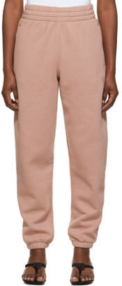 alexanderwang.t Pink Foundation Terry Lounge Pants