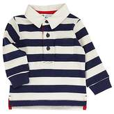 John Lewis Rugby Top, Navy/White