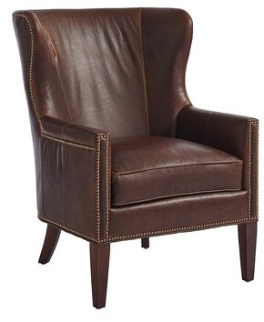 "Barclay Butera Avery 30.5"" W Wingback Chair"