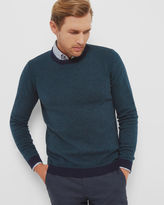 LINEGUY Geo crew neck sweater