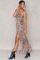 For Love & Lemons Saffron Sleevless Maxi Dress